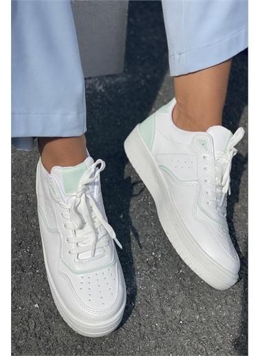 İnan Ayakkabı KADIN SPOR AYAKKABI SNEAKER Beyaz